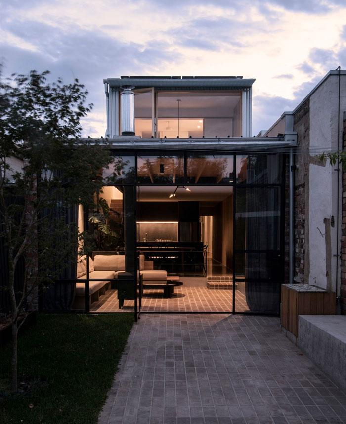 north fitzroy house olaver architecture 12