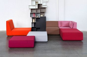 Sofa System Allows you to Create an Custom-made Modular Sofa