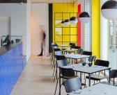 Bauhaus Inspired Interior of the LOLA Café in Vilnius