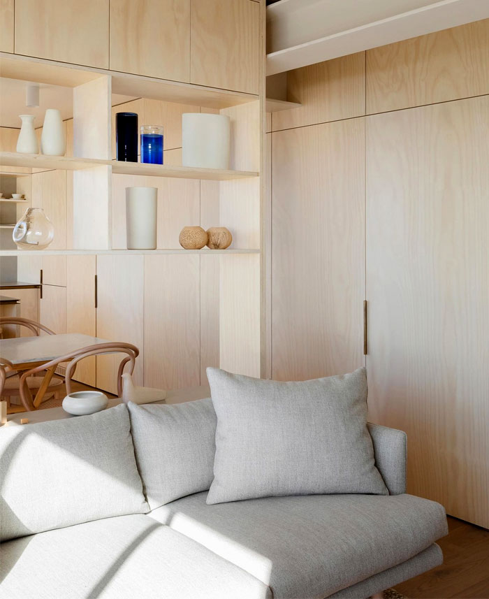 small studio apartment james garvan architecture 9
