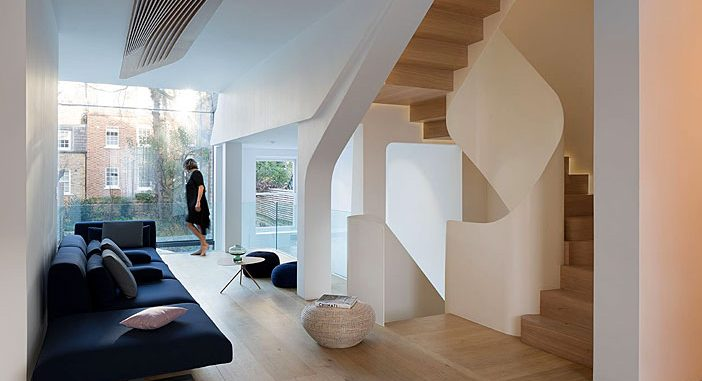 A Victorian Terraced House Turned into a Piece of Modern Art